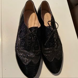 Shoes of Prey Black Oxfords